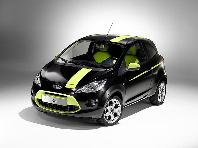 Not Offered In The U The Ford Ka Gets More Than  Mpg