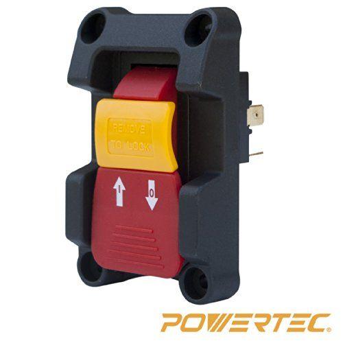 POWERTEC 71007 110//220V Paddle Switch