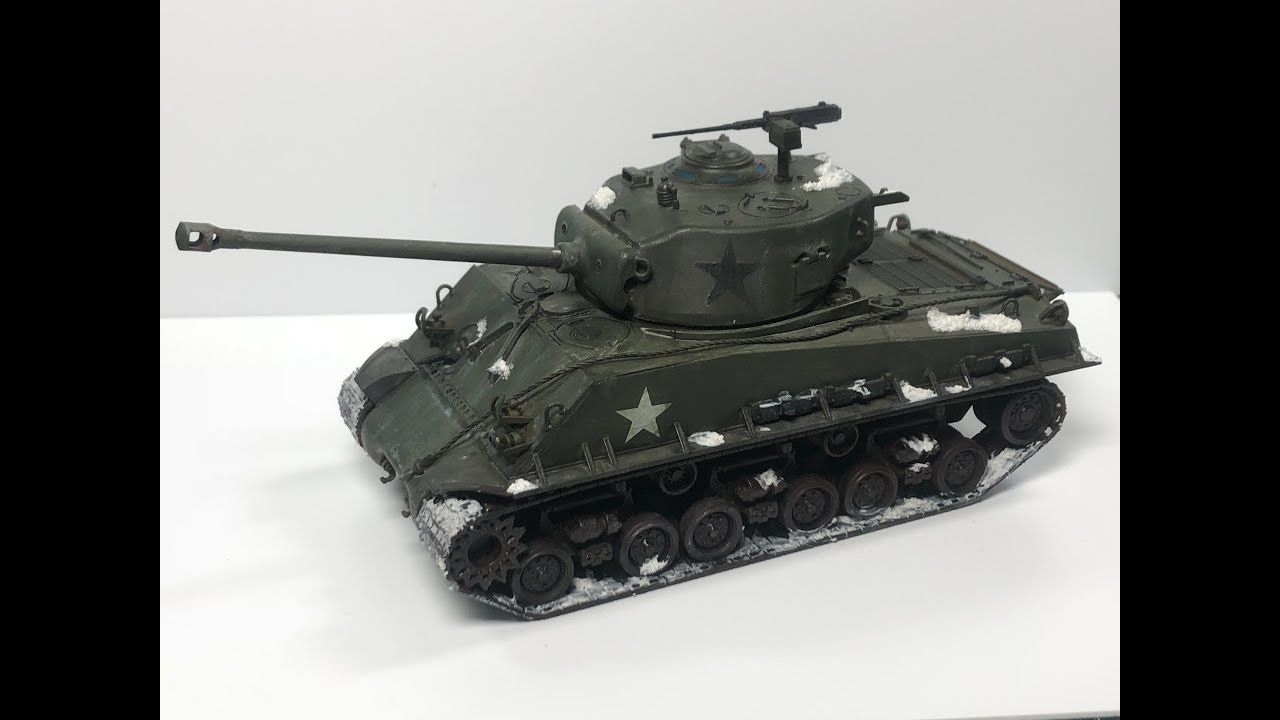 Build and Paint: Tamiya 1/48 M4A3E8 Sherman