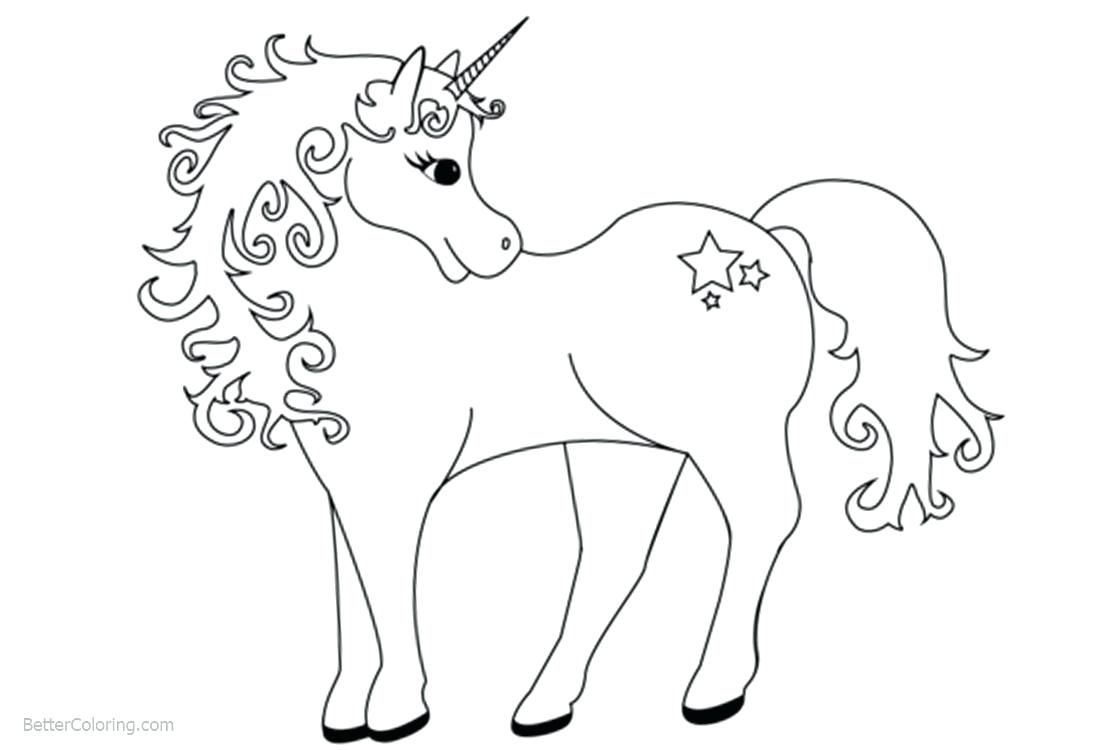 Free Unicorn Coloring Pages Coloring Pages Coloring Pages For Kids