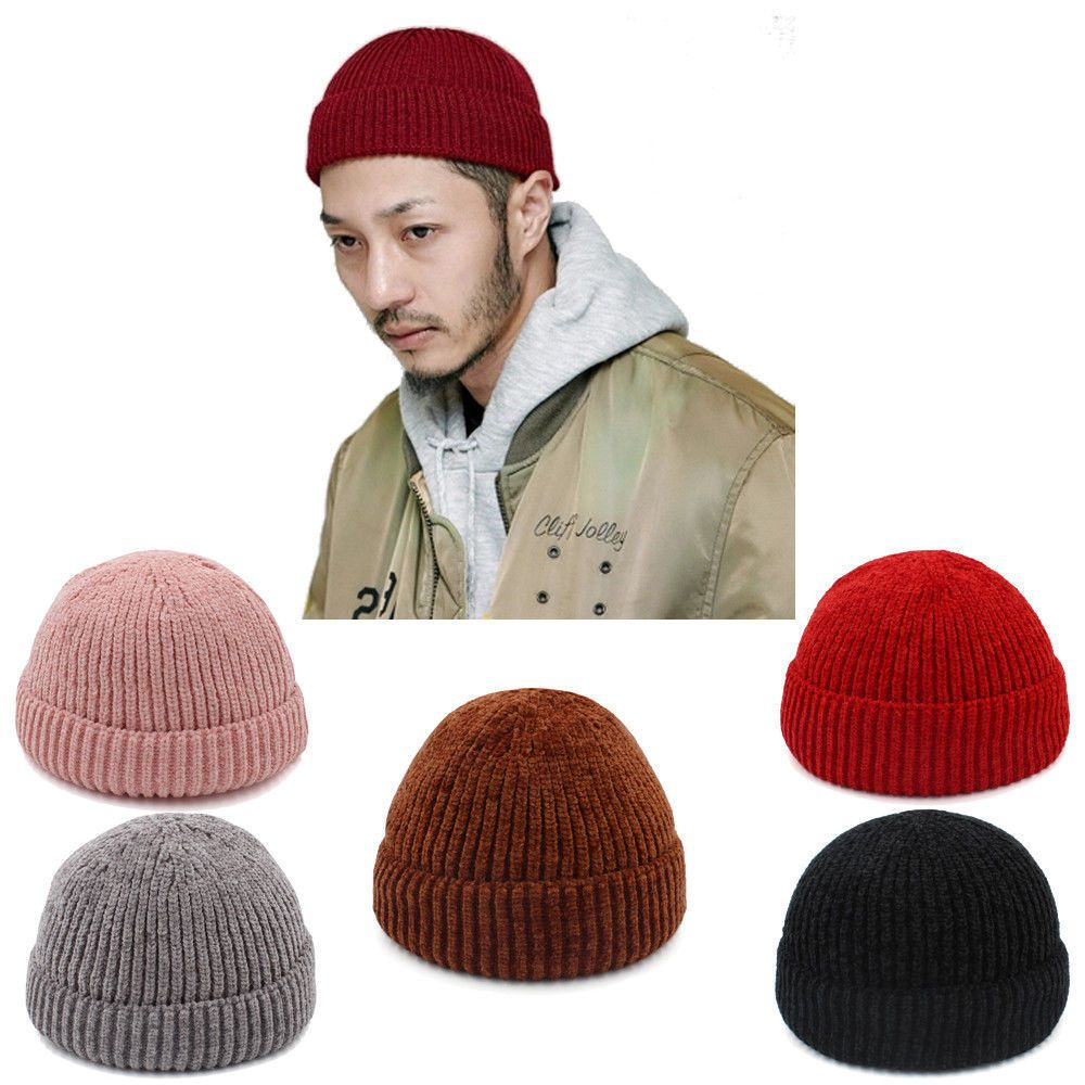 bf64a2fa Men Women Solid Soft Wool Beanie Skull Cap Miki Hat Knitted Warm Winter  Elastic #fashion #clothing #shoes #accessories #mensaccessories #hats (ebay  link)