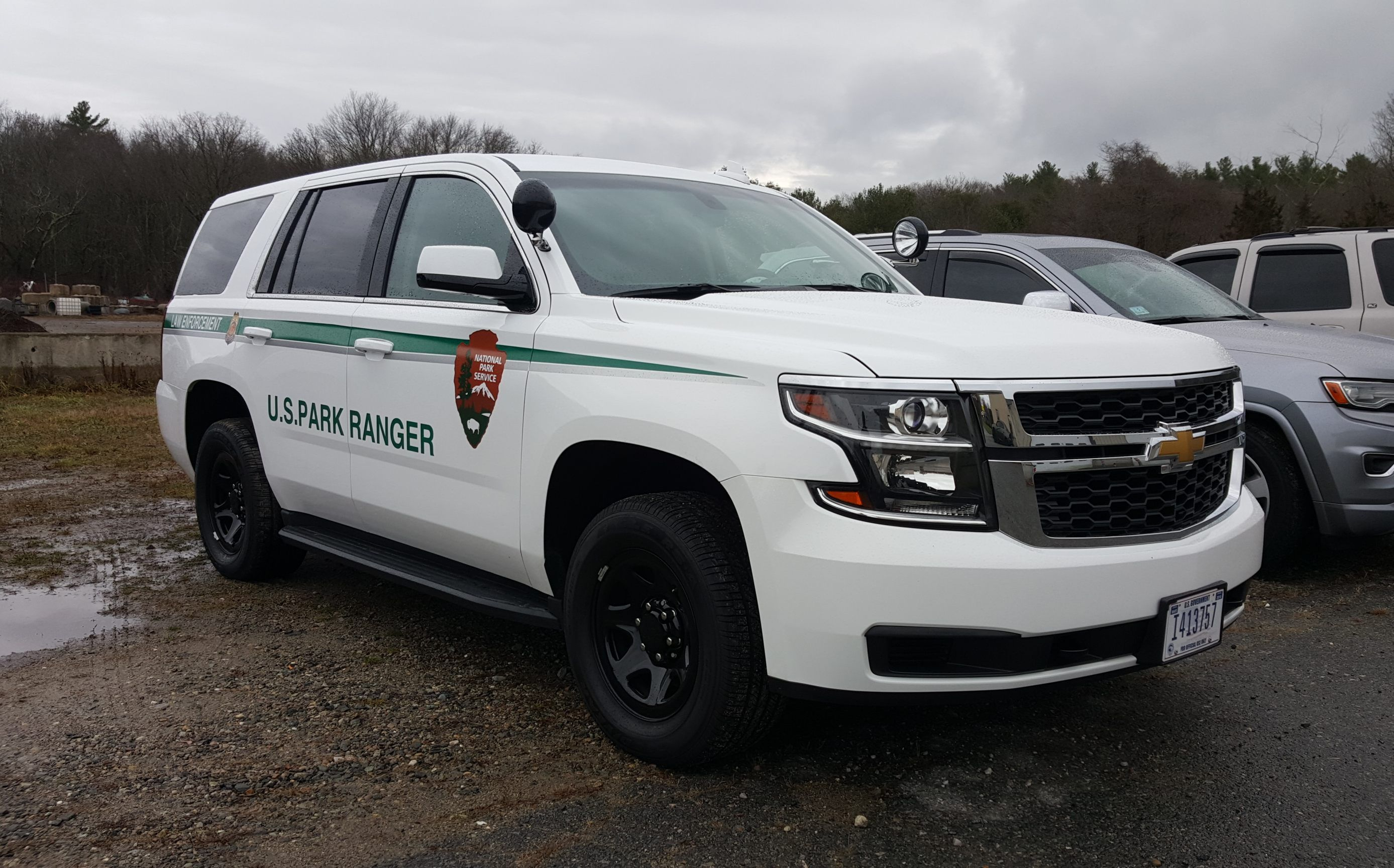 National Park Service Lowell Nps Ranger Vehicle Chevy Tahoe