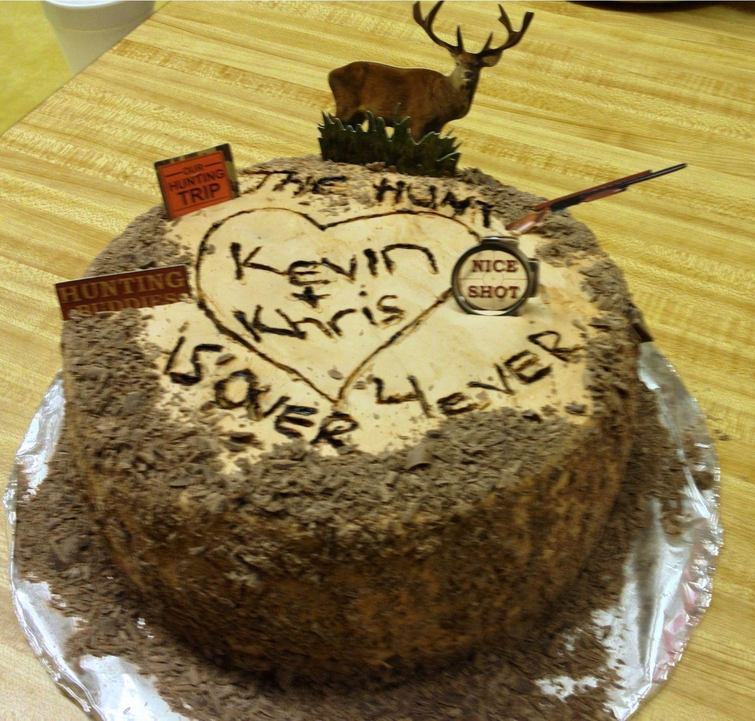 Redneck Grooms Cake