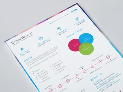 My Visual Resume Resume styles and Design resume - resume review service