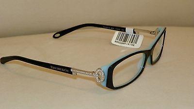 46cef8d8bde New Tiffany Co. Black Blue key Eyeglasses Frame 2047B 8055 54-15-135 glasses