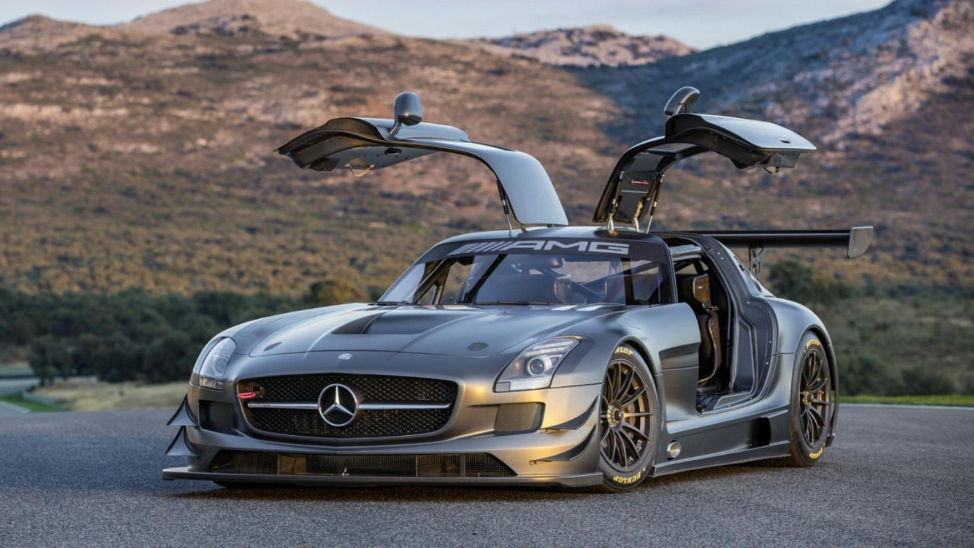 Mercedes Benz Sls Amg 45th Anniversary Edition On Hd Wallpapers