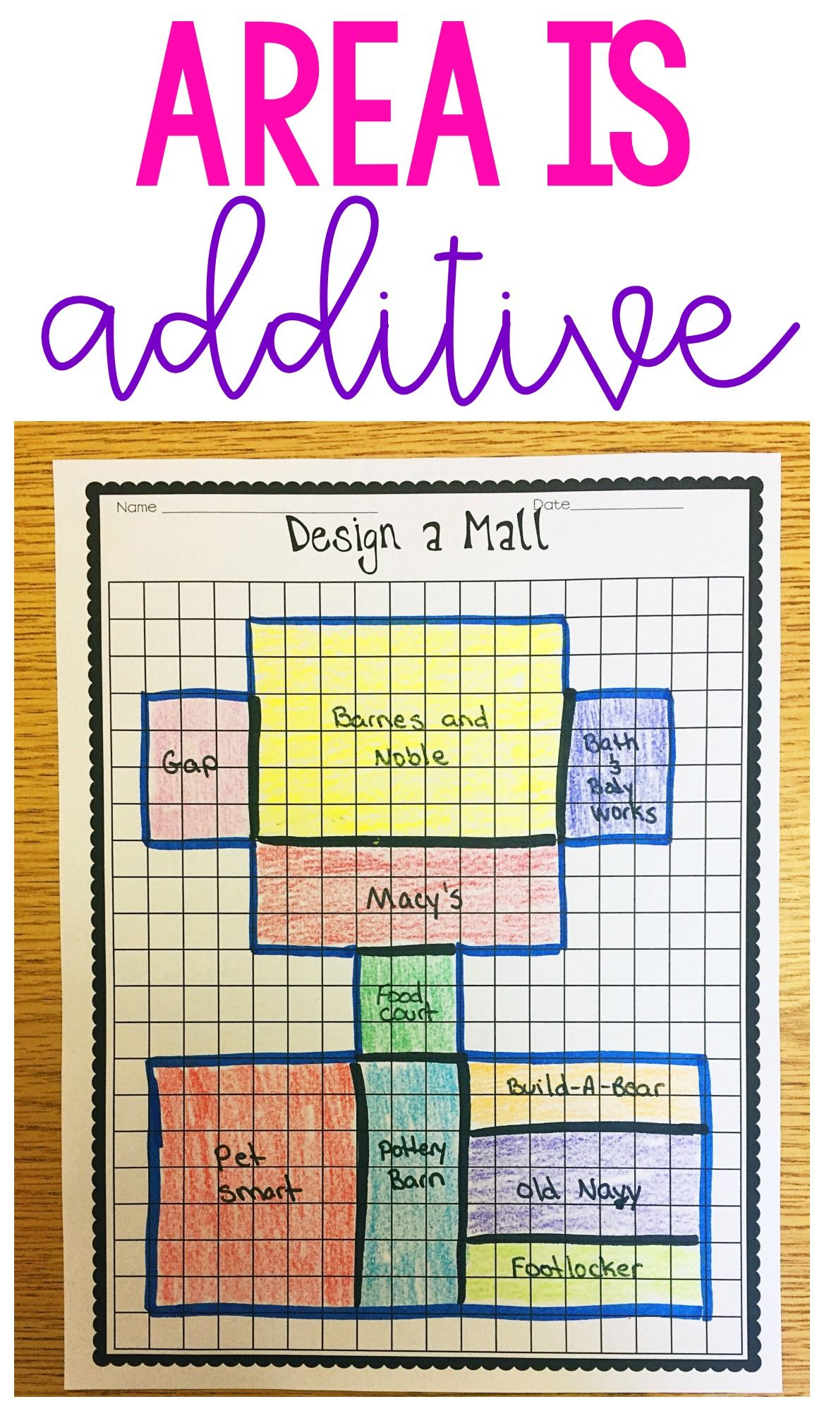 No Prep Area And Perimeter Printables
