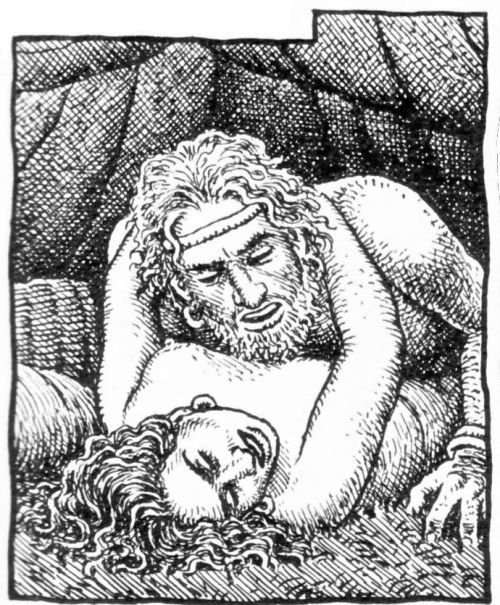 Robert Crumb - The story of Joseph & his brothers - Judah sends his second son Onan to Tamar (Er's widow) (Genesis 38:8-9)