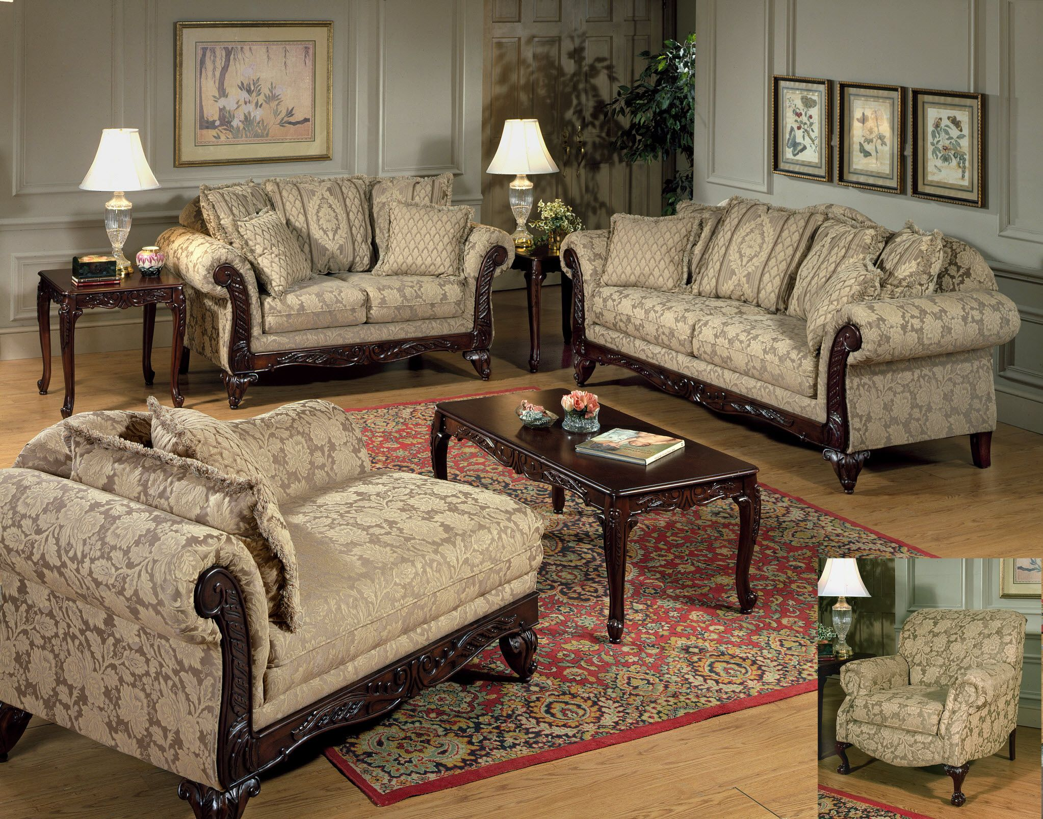 Sofa And Love Seat 899 00 Shown In Clarissa Carmel Sofa 499 00