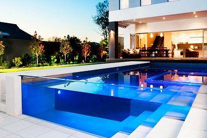 Espectacular visi n planos low cost piscinas de cristal for Planos de piscinas