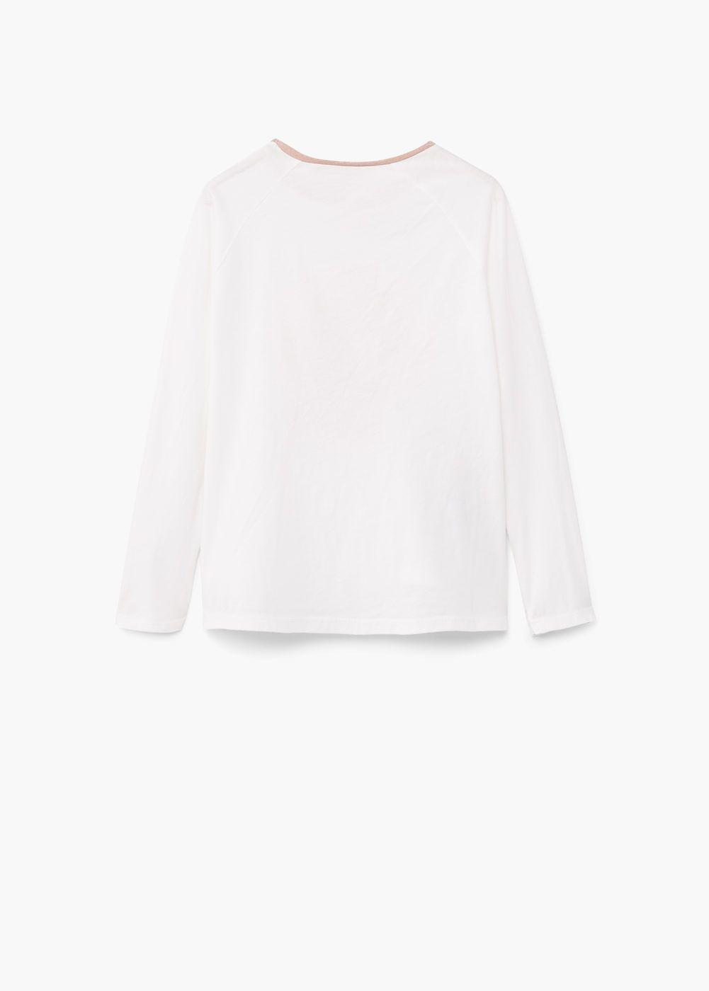 T-shirt algodão imagem | MANGO KIDS