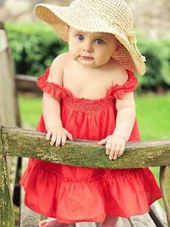 Red dress infant lesson