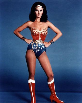 Wonder Woman!  I used to LOVE this show when I was a little girl.