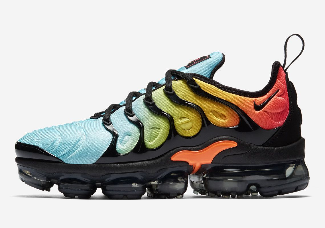 best service 7d186 73129 Nike Air Max Plus TN 2018 Spectrum Black Yellow Blue Mens Shoes   Nike Air  Max TN Running Shoes   Nike air vapormax, Nike air, Nike air max tn