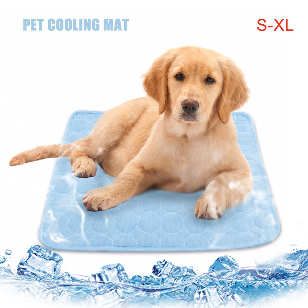 Summer Pet Cooling Mats For Dogs Summer Dog Bed For Small Medium Large Dogs Cats Pet Cool Sof In 2020 Pet Cooling Mat Cool Pets Pet Mattress