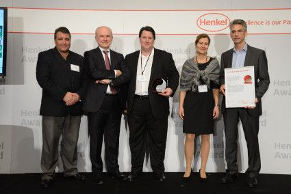 Henkel Presents Awards To Outstanding Suppliers Awards Place Card Holders Presents