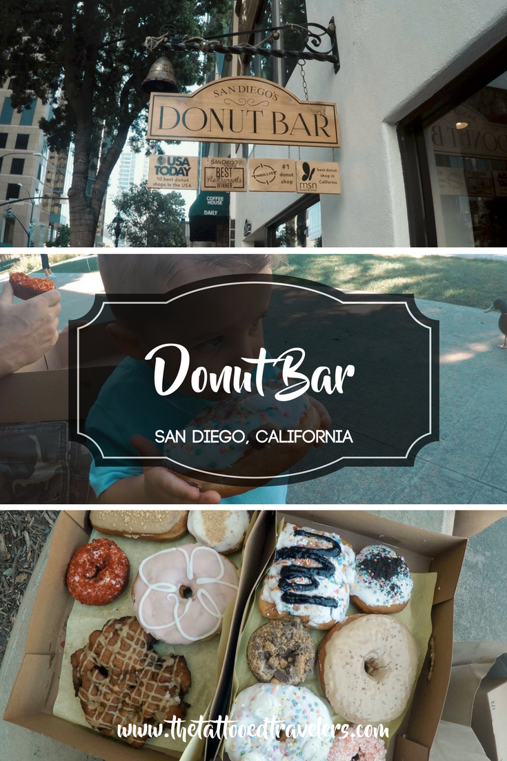San Diego's Donut Bar   San Diego, California   www.thetattooedtravelers.com   Things To Do   Bucket List   Travel Guide   Travel Tips   Destinations   Vacation   Food   Foodie   Kids   Family  