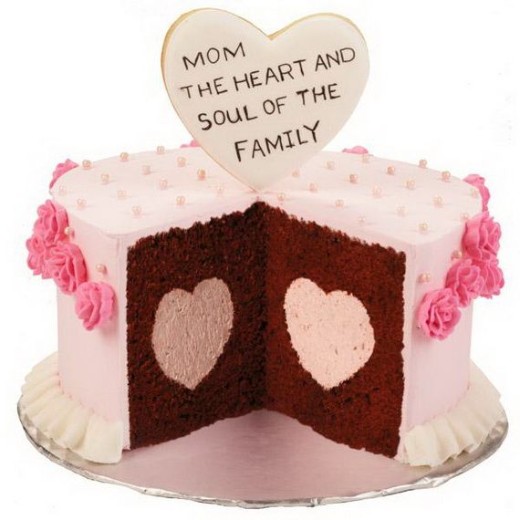 Simple And Beautiful Cake For Mom With Images Birthday Cake