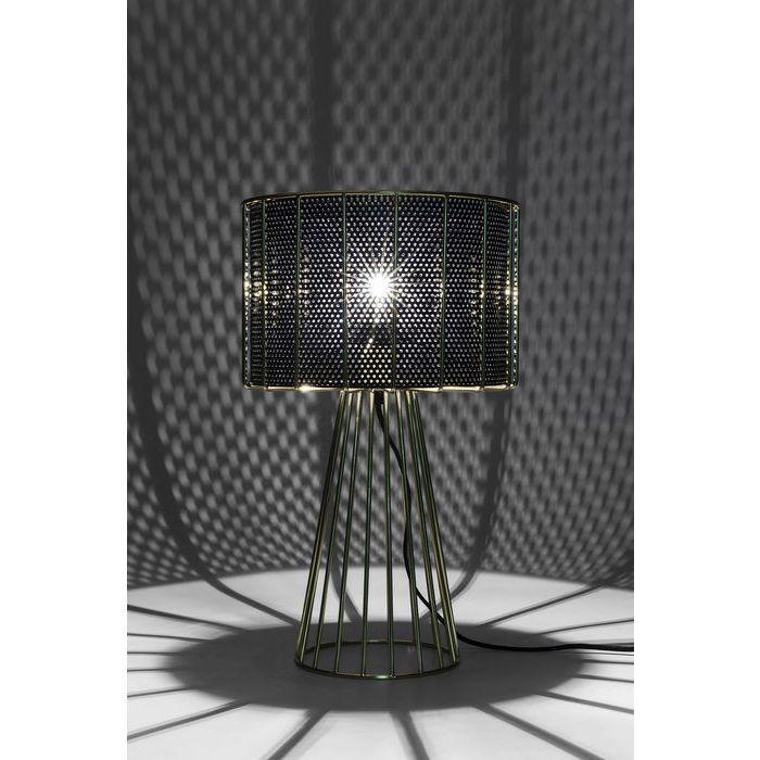 Lampara Mesa Wire Bowl Kare Design Lamp Wire Lamp Table Lamp
