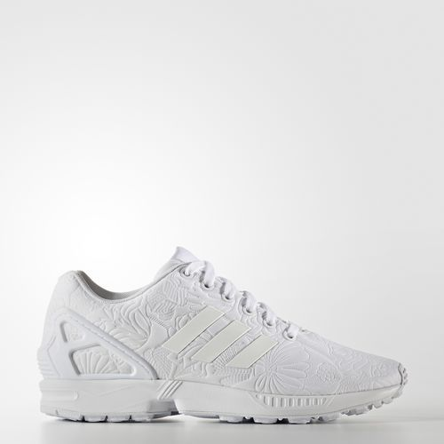 nariz antecedentes Intentar  The texture on these- #swoon ZX Flux Shoes - White | Adidas shoes  originals, Adidas shoes zx flux, Adidas
