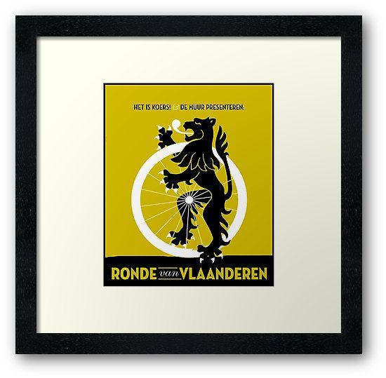 A Fine Art High Definition Vintage Ronde Van Vlaanderen ...