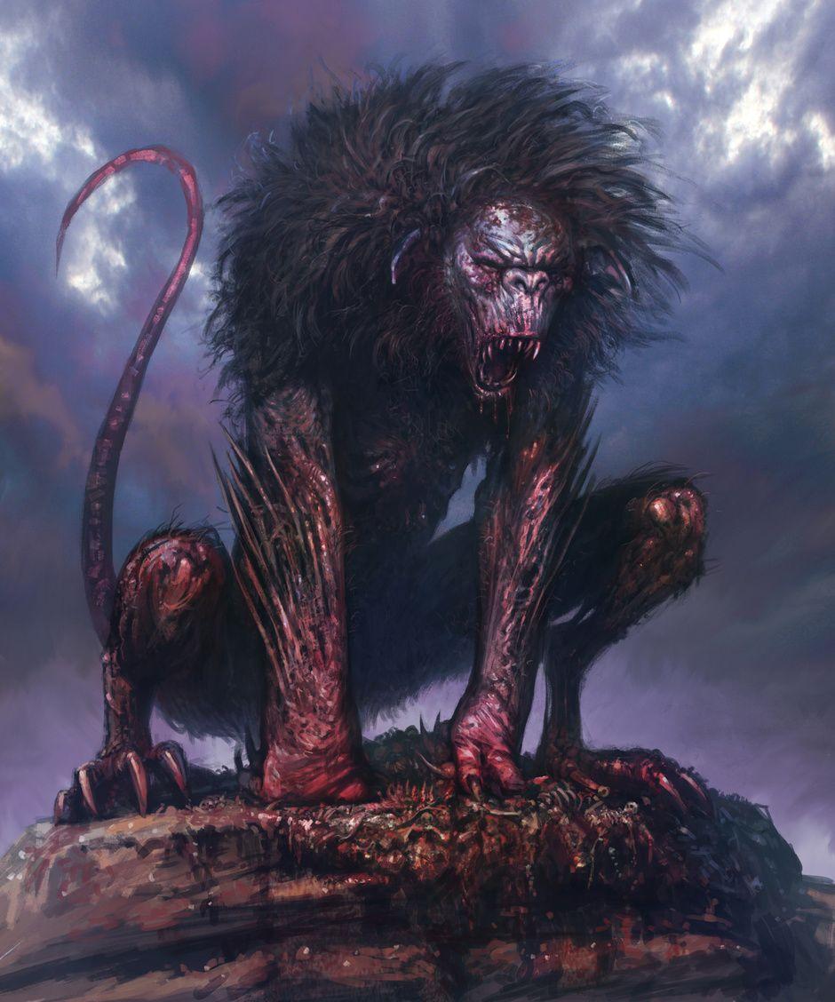 Beast Kos Haszon Horror 2d Cgsociety Creature