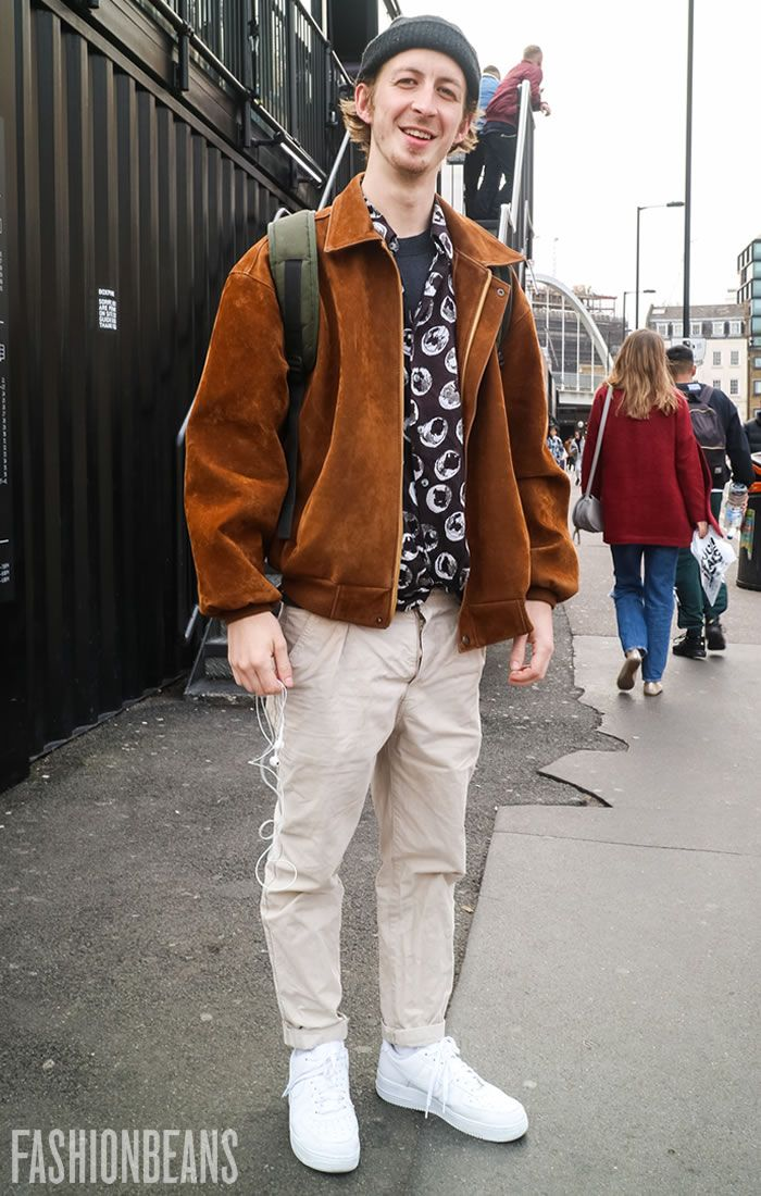 See Elliot's personal style & the latest men's street style photography at FashionBeans.com. Our street style gallery is updated twice weekly. The inspiration you need for your own outfits.