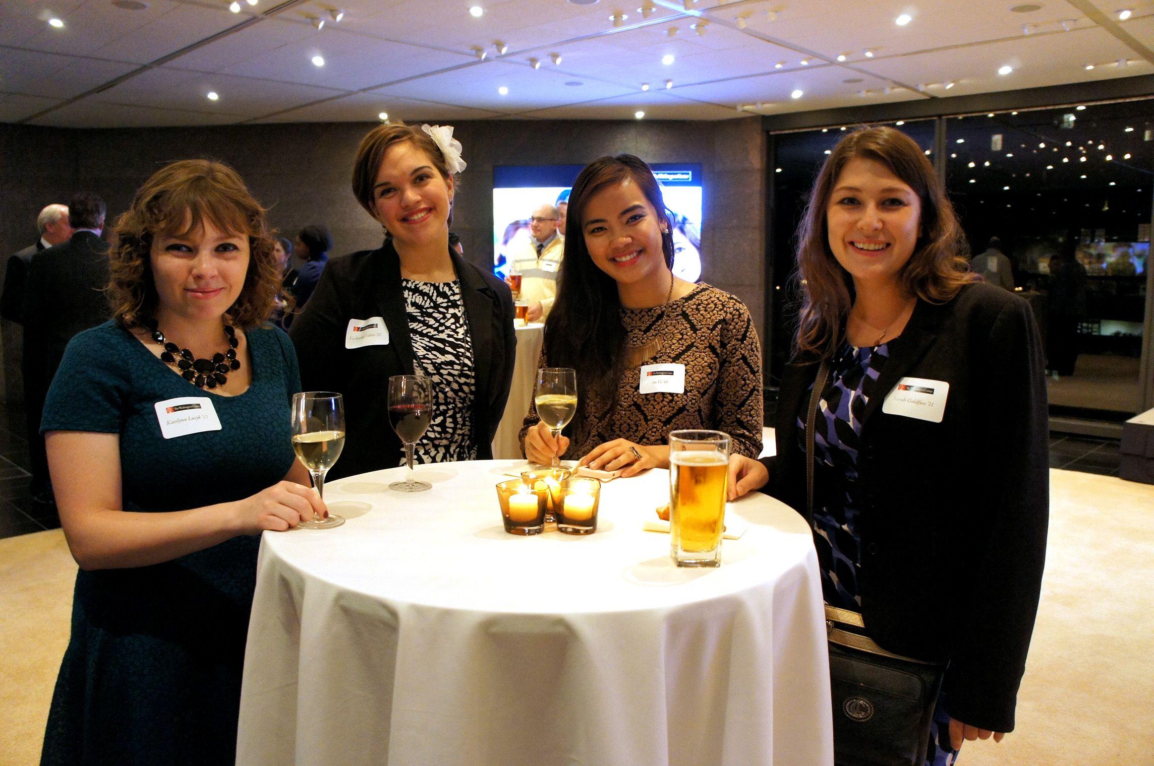 The Washington Center And Popular Community Bank Hosted 50 Alumni
