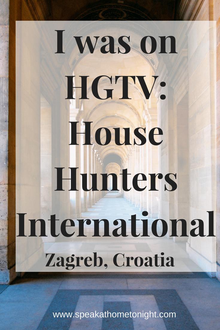 Zagreb Croatia House Hunters International Hgtv House Hunters Thoughts Language