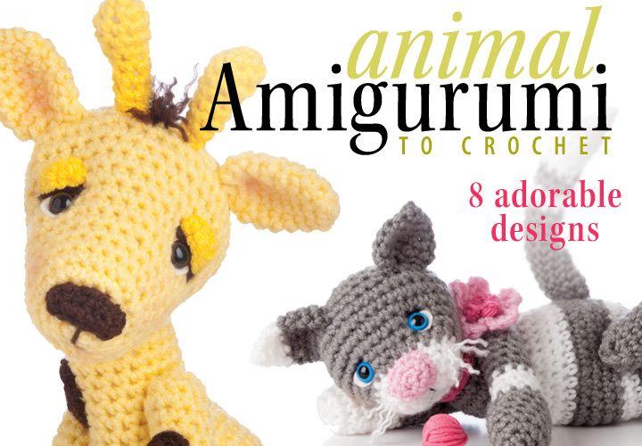 Animal Amigurumi to Crochet Pattern Book from Anniescatalog.com ...