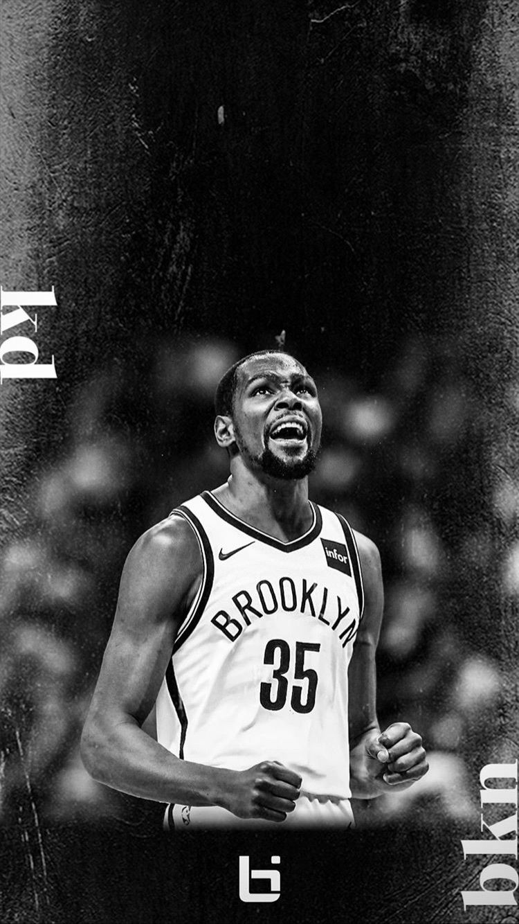 Kevin Durant Brooklyn Nets Background Nba Wallpapers Basketball Players Nba Nba Players