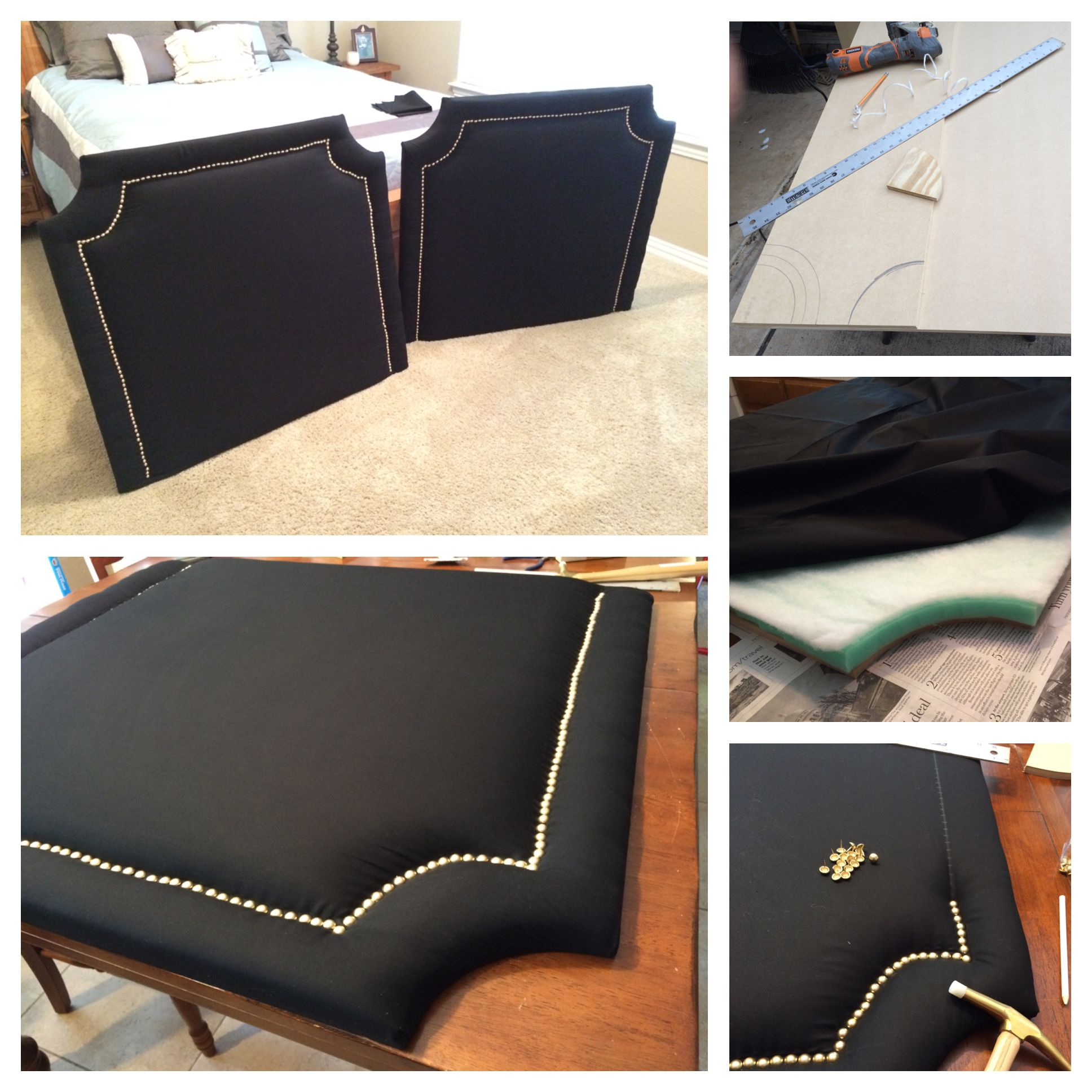 Custom Built Twin Bed Headboard Made Two For My Daughter