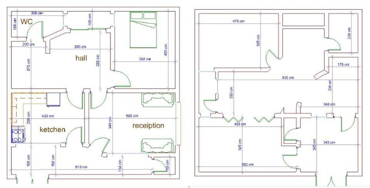 خرائط منازل 100 متر 10*10 المنشور الاول - منتديات درر العراق | Floor plans,  Save, Diagram