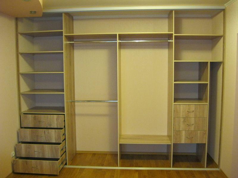 Шкафы-купе в спальню: фото внутри с размерами   DomoKed.ru ...