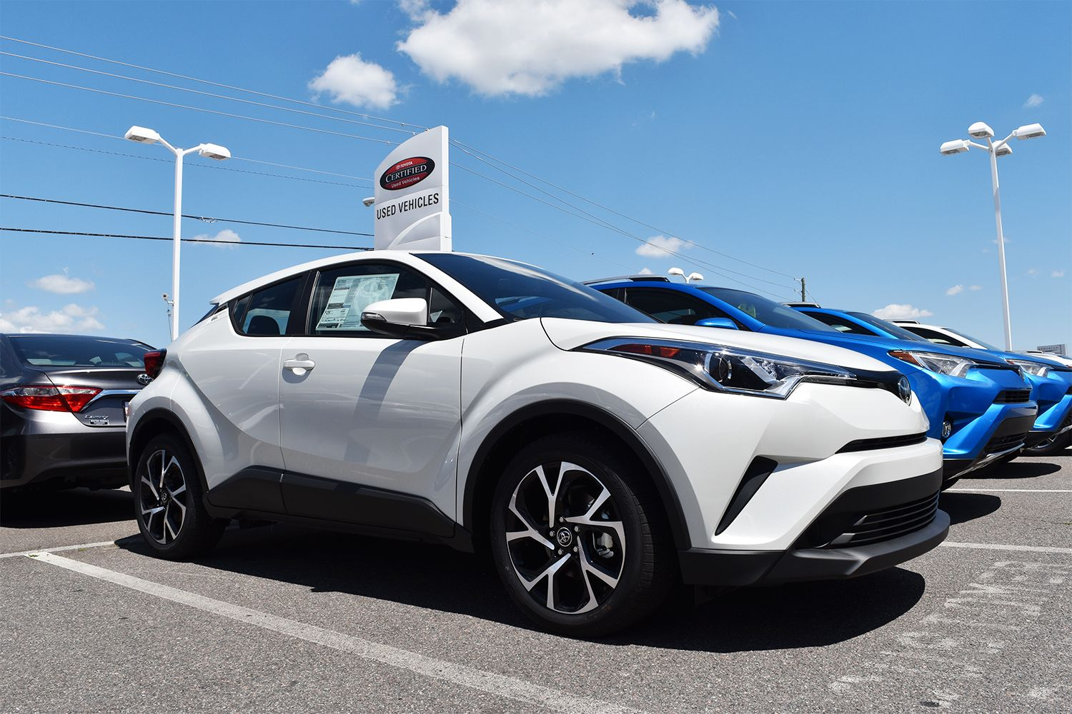 Introducing an all new Toyota. Meet the 2018 CHR, now on