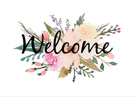 PRINTABLE 5X7 WATERCOLOR WELCOME Sign | Welcome sign, Wedding ...