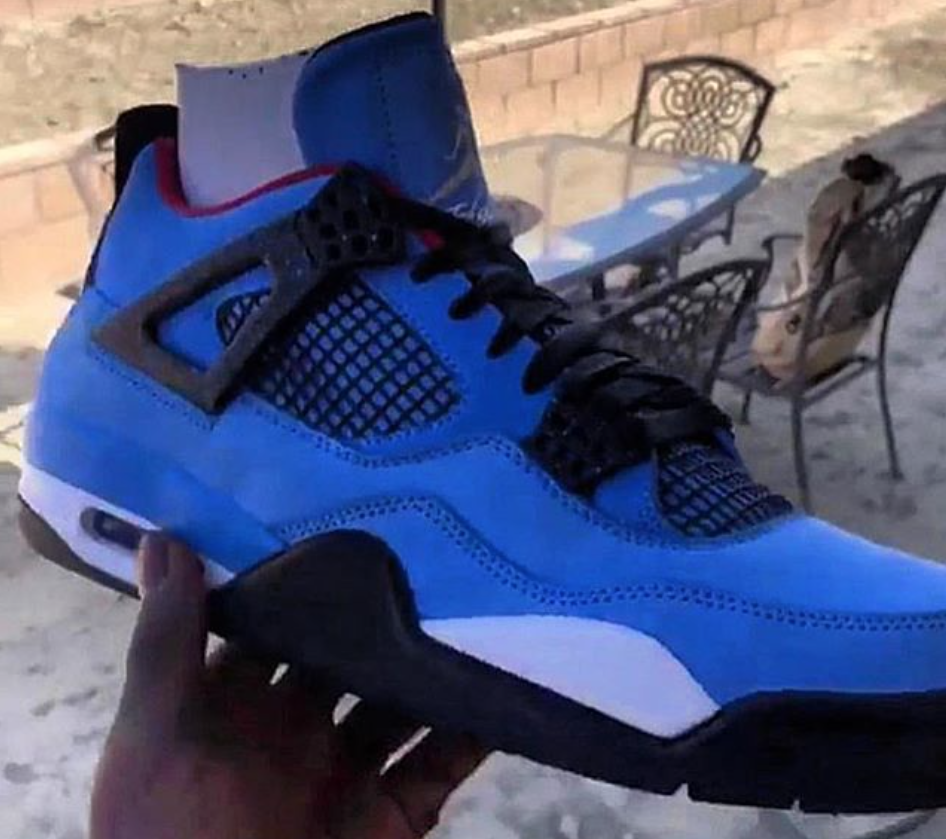 30aab3eb68df ... coupon a preview of the travis scott x air jordan 4 cactus jack ccb70  de2ad