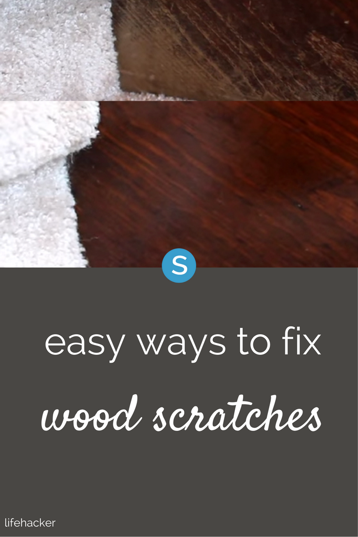 An Easy Way To Fix Scratches On Your Wood Furniture Using