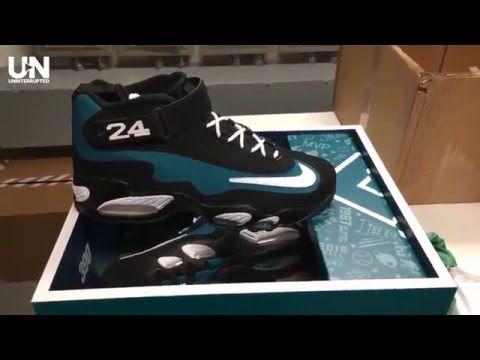 3b87596ac LeBron James Gets Special Gift from Ken Griffey Jr. - YouTube ...