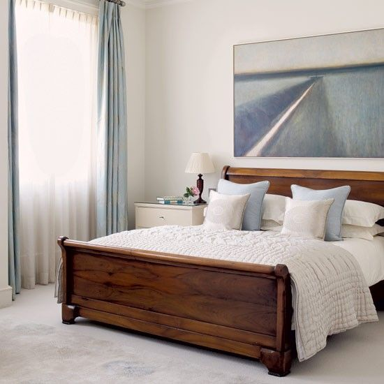 Calming Bedroom Designs Fair Calming Bedroom Ideas  Bedrooms Bed Frames And Wooden Sleigh Bed Design Inspiration