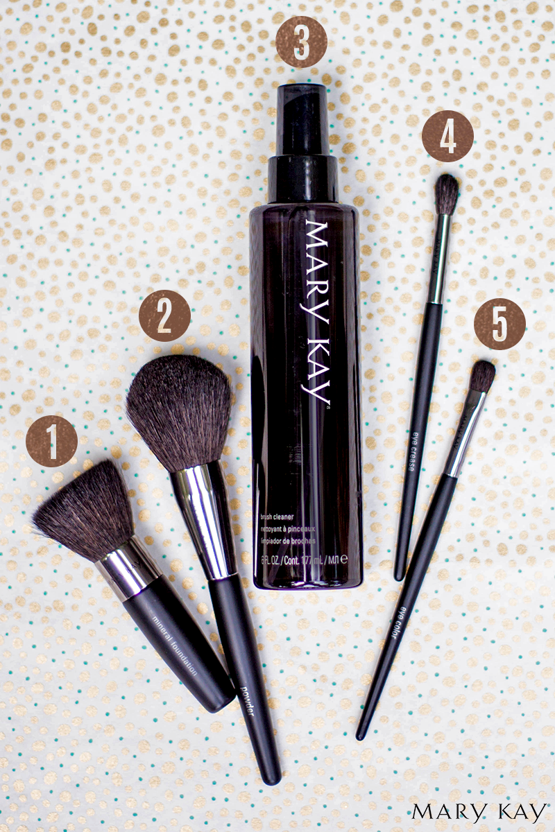 Lost when it comes to makeup brushes? Here's a quick guide