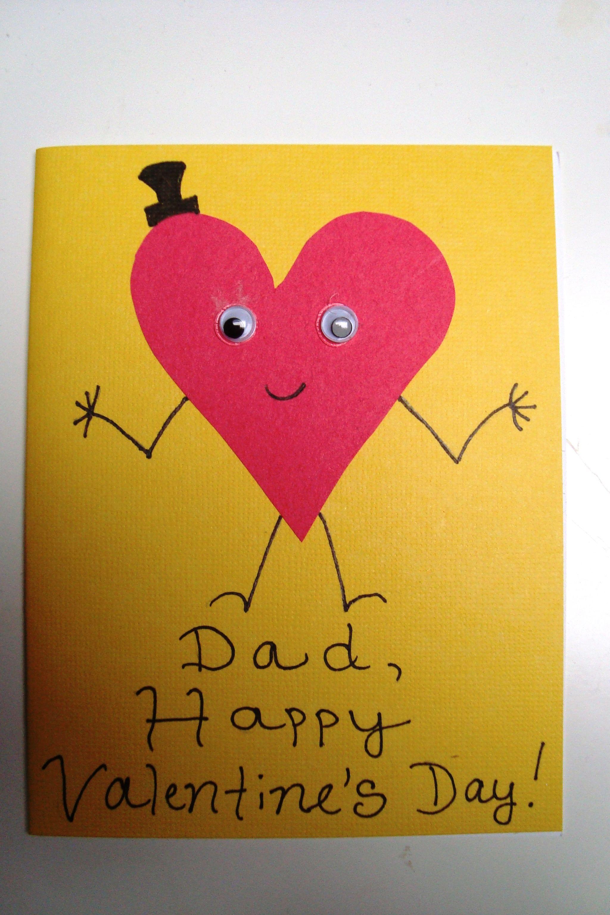 Valentine S Day Card For Dad Valentine S Day Pinterest Dads