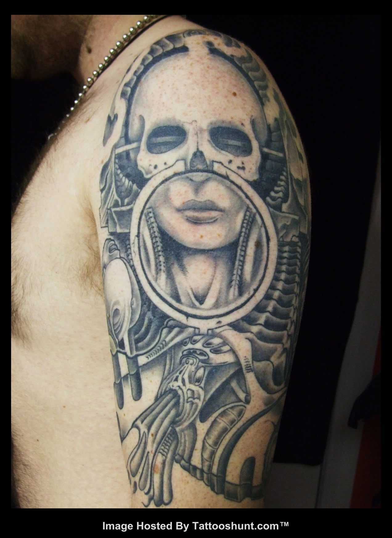 Hr giger tattoo designs - Tattoo