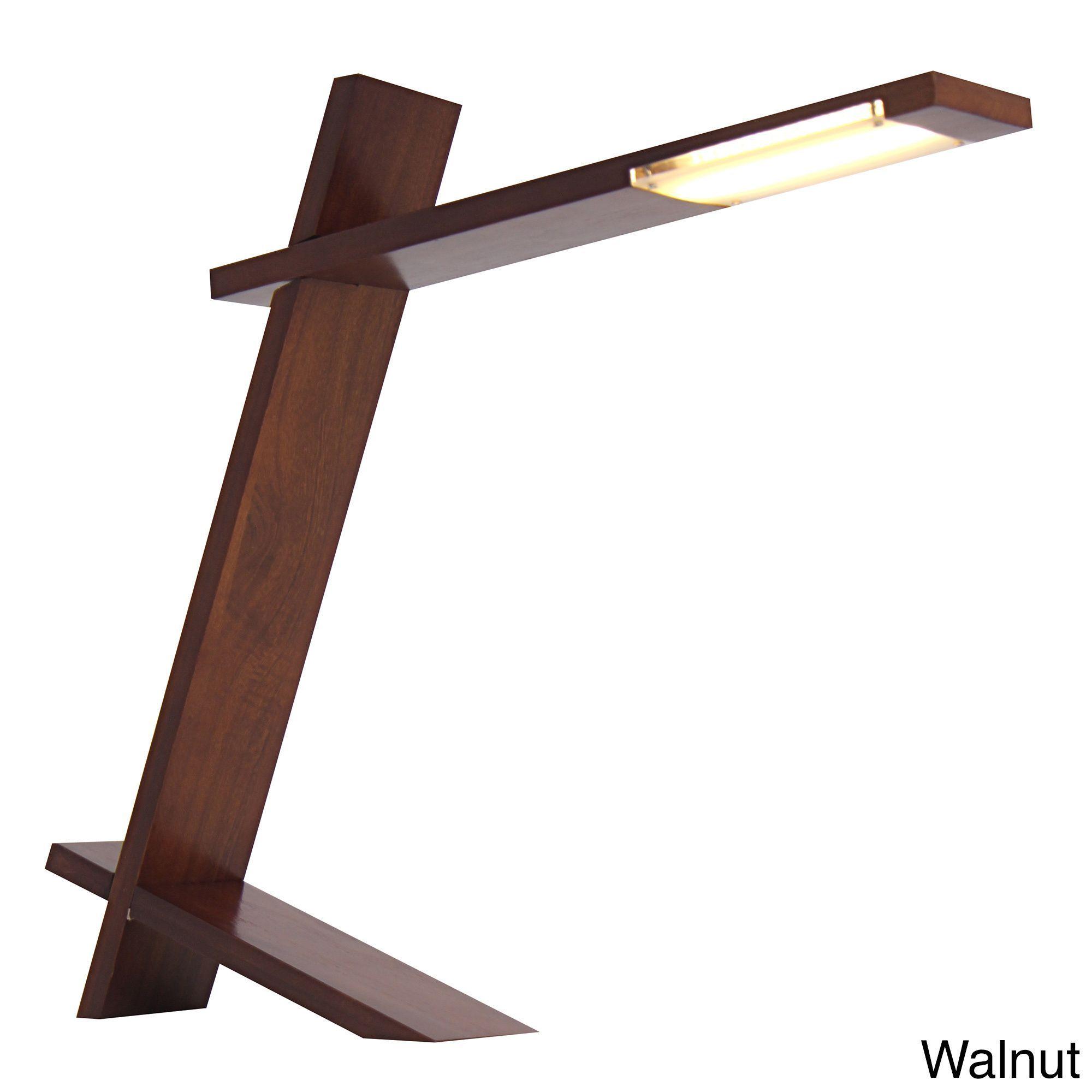 LumiSource Contemporary Plank LED Desk Lamp