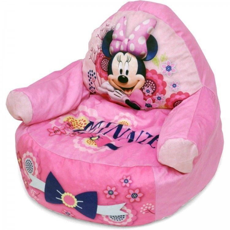 Fine Minnie Mouse Toddler Figural Bean Bag Chair Playroom Creativecarmelina Interior Chair Design Creativecarmelinacom