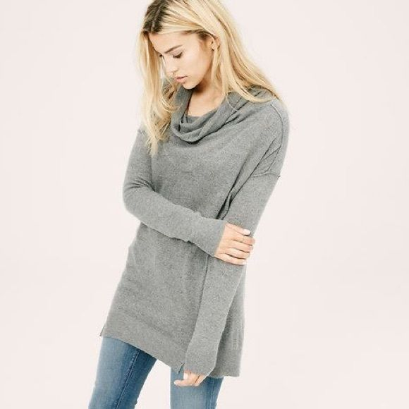 WAS $45 - 1 HR SALE | Lou & Grey Cowl Neck Tunic | Cowl neck ...