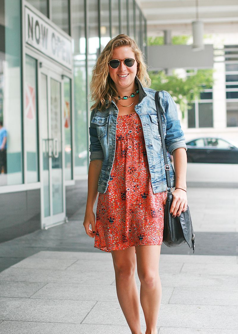 Denim jackets and dresses | My Fashion dresses | Pinterest | Denim ...