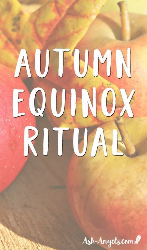 A Simple Autumnal Equinox Ritual #autumnalequinox