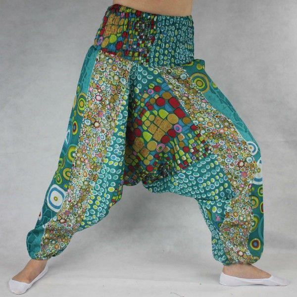 80db37c9e937 Turecké kalhoty - Aladinky - Haremky - Pumpy Orientalni KR03