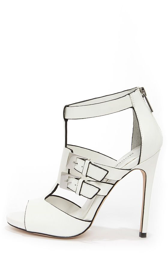 1000  images about Shoe Love on Pinterest | White high heel ...